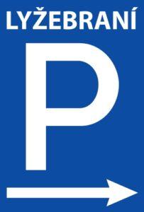 Parkování na Lyžebraní