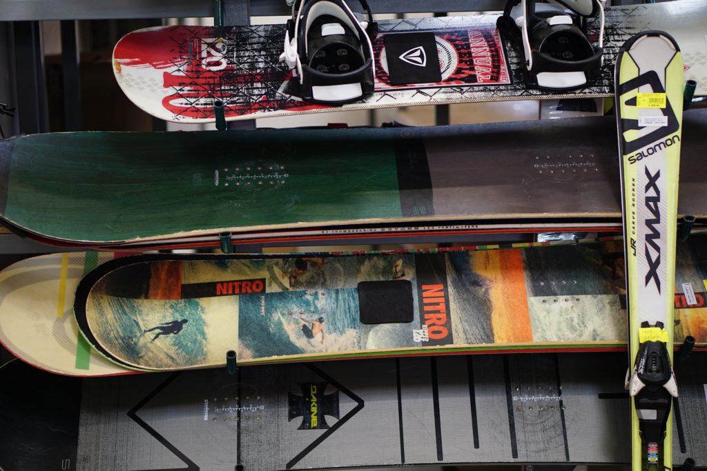 Bazarové i nové snowboardy