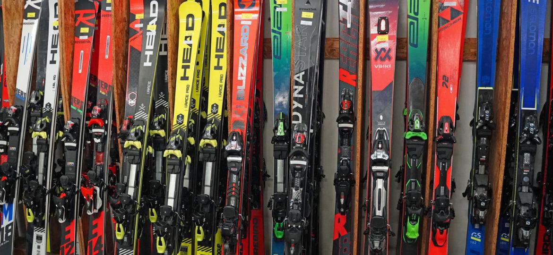 Testovací lyže modely sezony 2019-2020